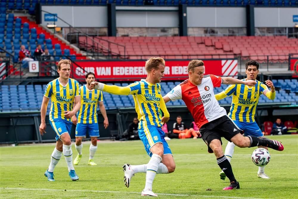 Feyenoord eindigt competitie met makkelijke overwinning op RKC; image source: Pro Shots