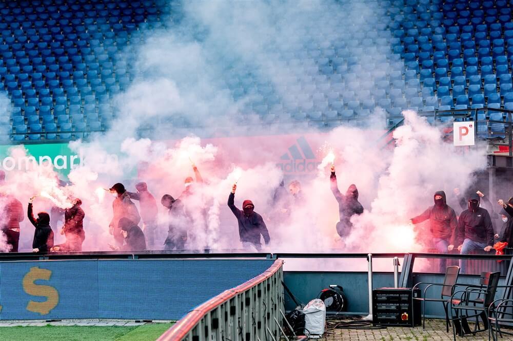 """""""Mogelijk publiek bij wedstrijden in de play-offs""""; image source: Pro Shots"""