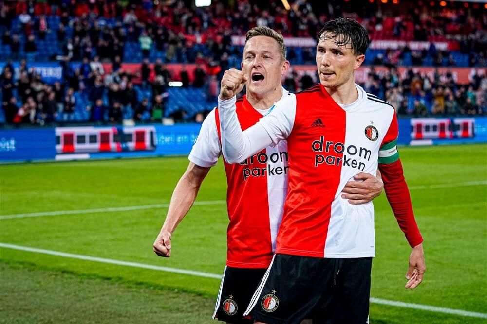 Feyenoord plaatst zich eenvoudig voor finale play-offs; image source: Pro Shots