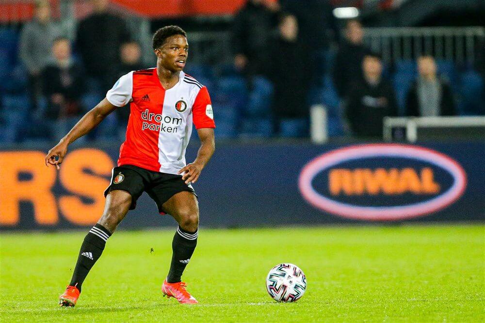 """Tyrell Malacia: """"Ik ben gewoon hier en focus me op Feyenoord""""; image source: Pro Shots"""