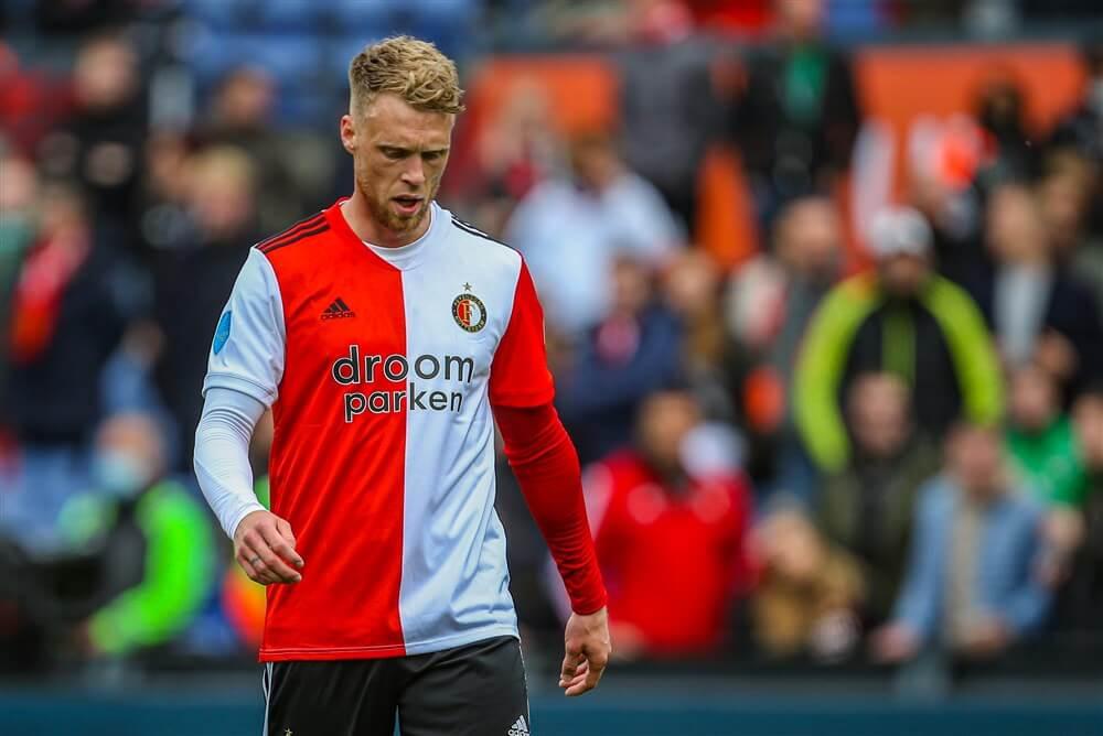 """Arne Slot: """"Nicolai Jørgensen heeft aangegeven op zoek te zijn naar een nieuwe uitdaging""""; image source: Pro Shots"""