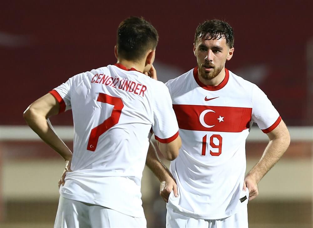Geen speeltijd voor Orkun Kökcü bij kansloze nederlaag Turkije; image source: Pro Shots