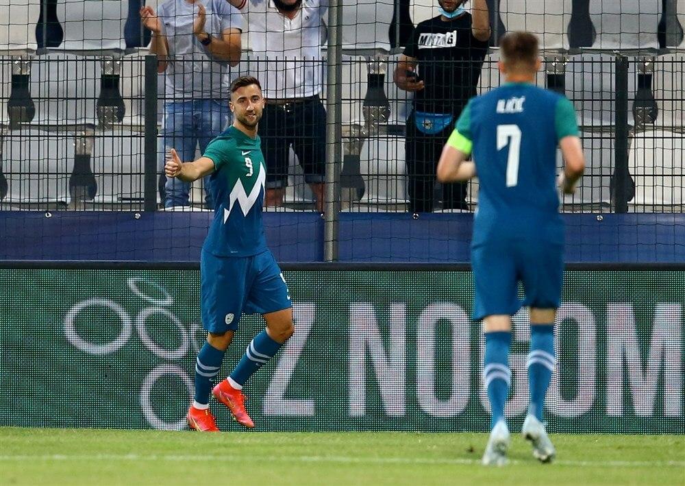 """Feyenoord aast op Sloveens international Andraz Sporar""; image source: Pro Shots"
