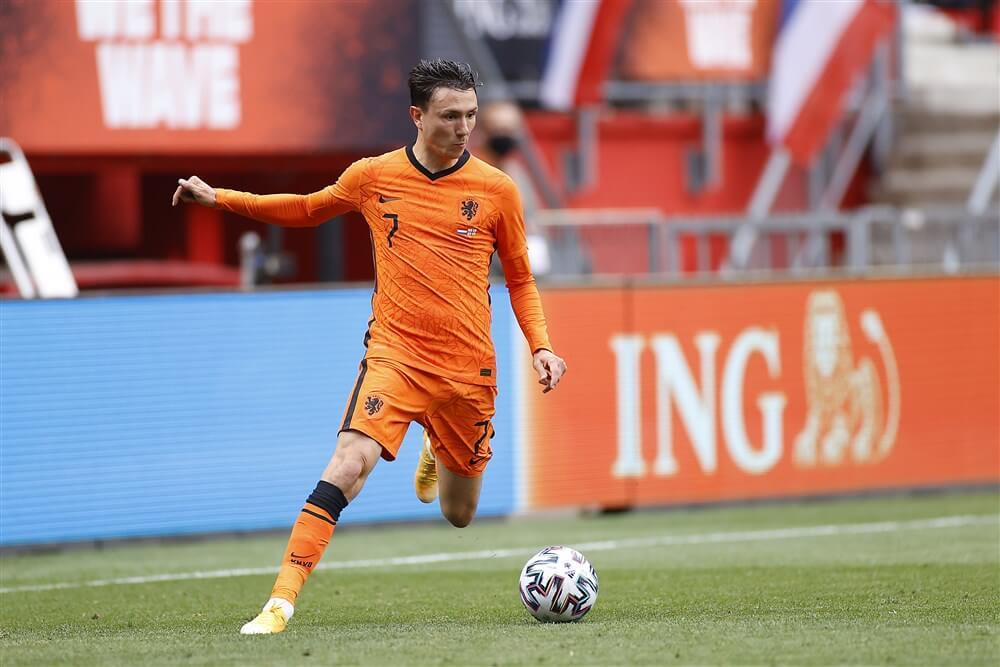 Zwak Oranje met invaller Steven Berghuis te sterk voor Georgië; image source: Pro Shots