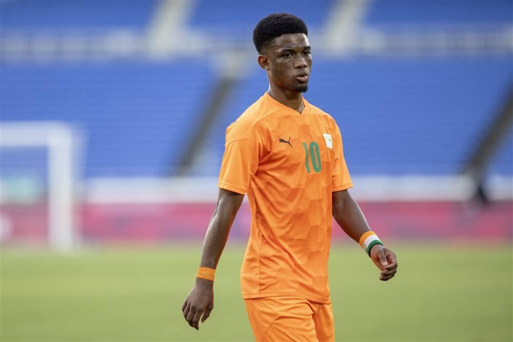 """""""Feyenoord denkt opnieuw aan huur Amad Diallo""""; image source: Pro Shots"""