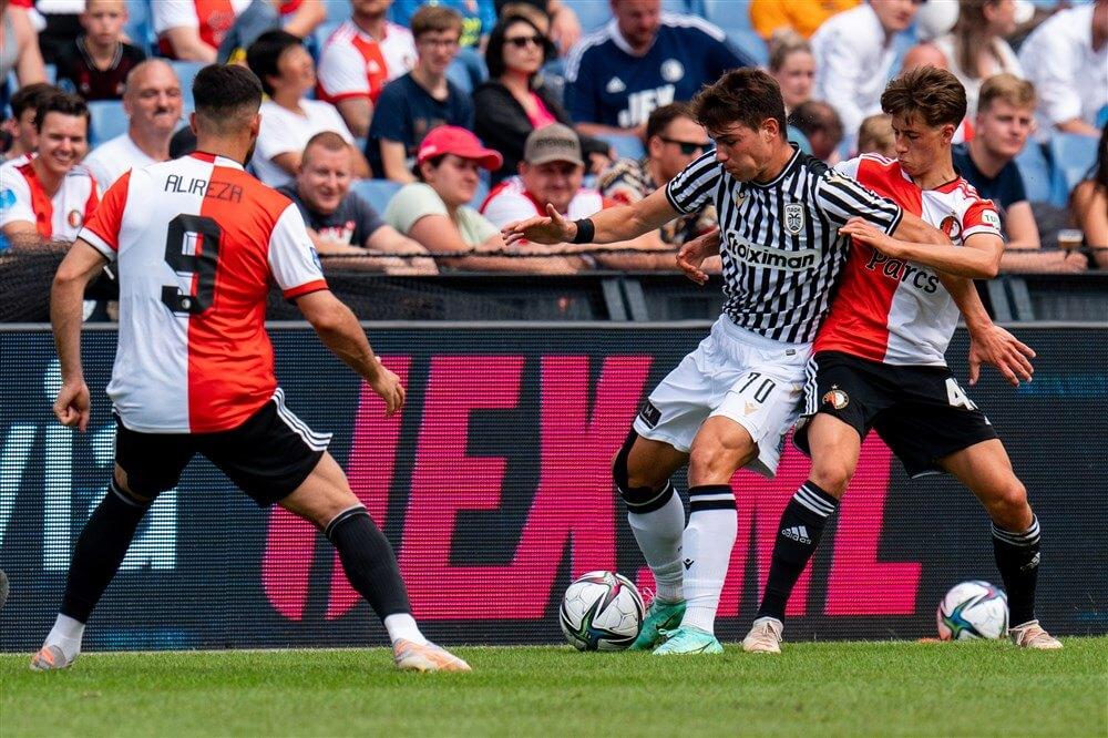 Feyenoord verliest tweede oefenduel van PAOK Saloniki; image source: Pro Shots