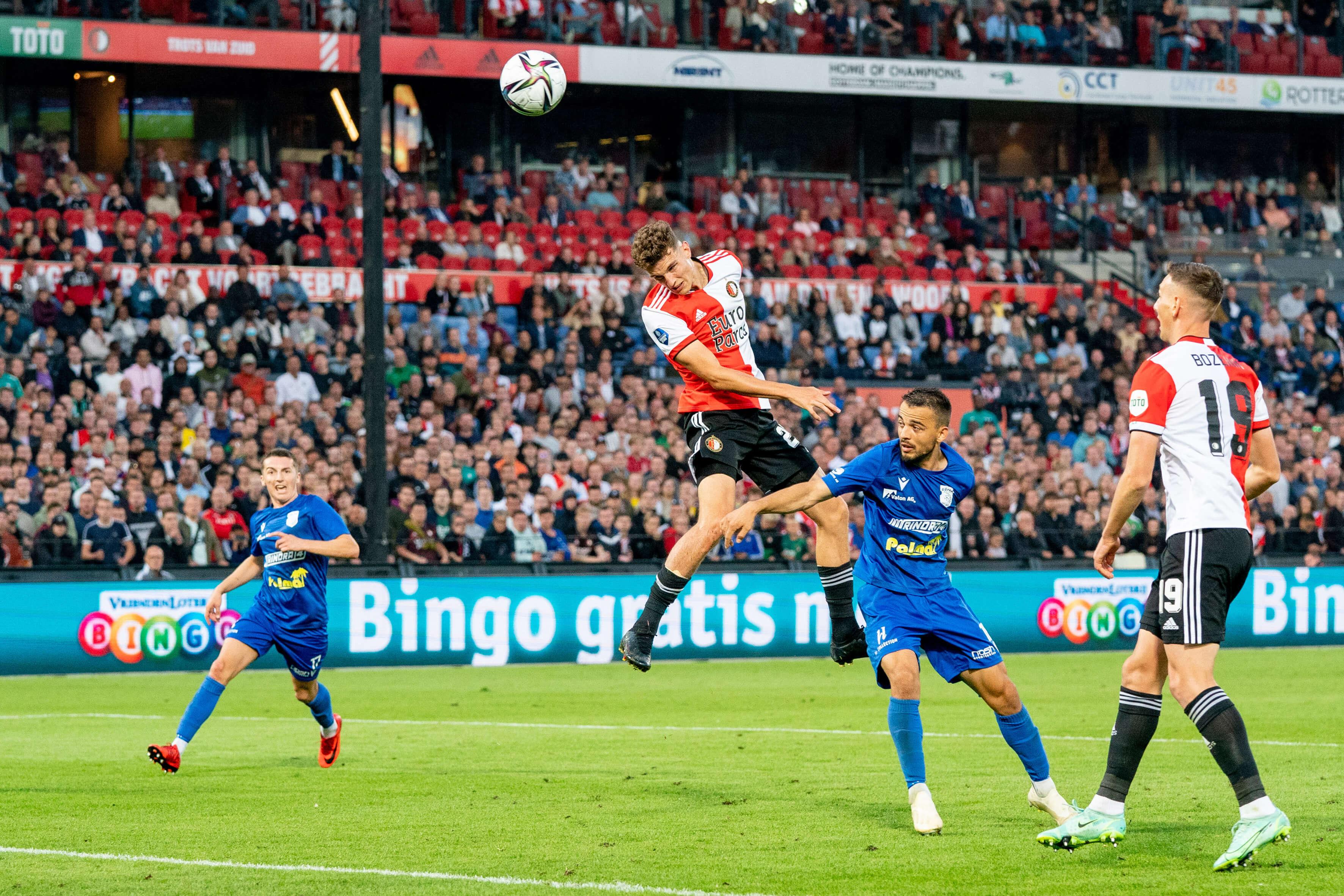 Feyenoord door hattrick van Til naar volgende ronde Conference League; image source: Pro Shots
