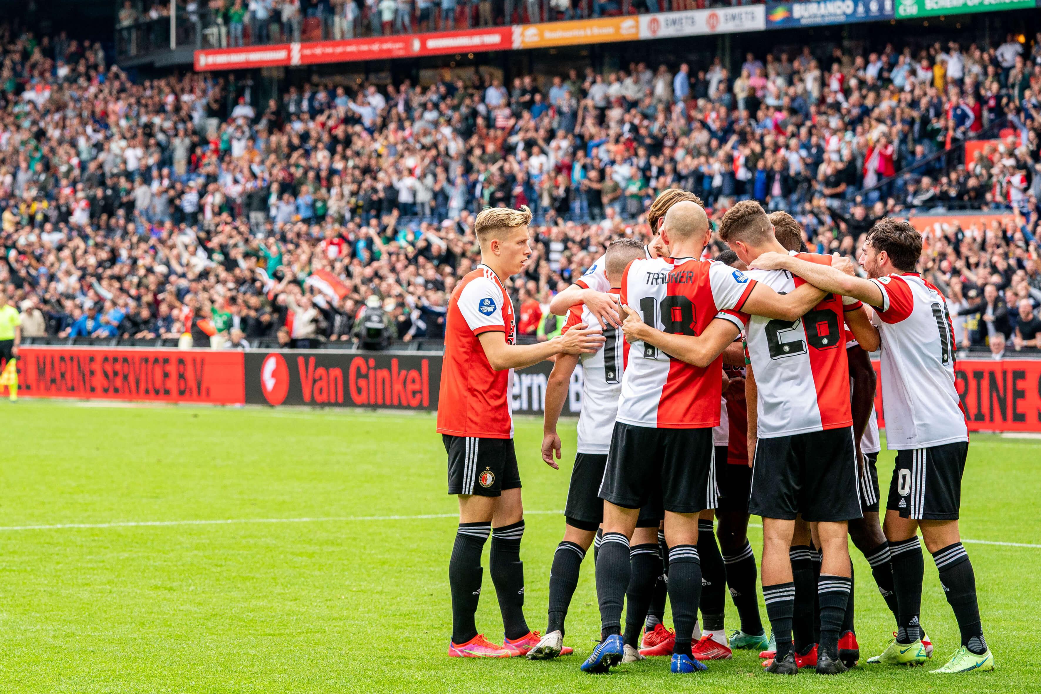 Feyenoord dankzij treffers Bryan Linssen aan kop van Eredivisie; image source: Pro Shots