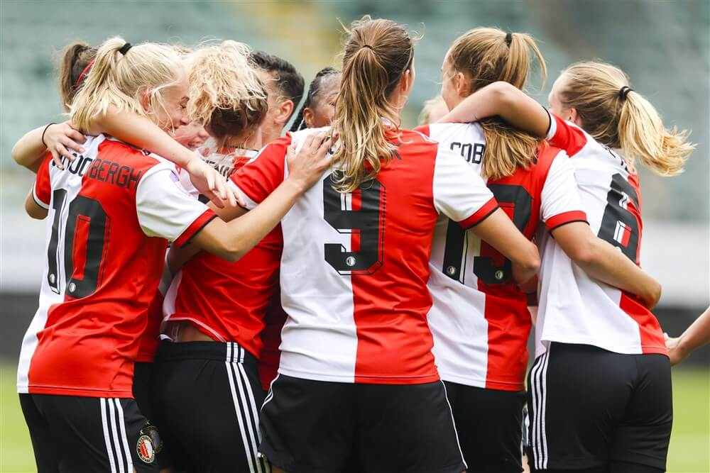Feyenoord Vrouwen pakt in Alkmaar eerste overwinning van het seizoen; image source: Pro Shots