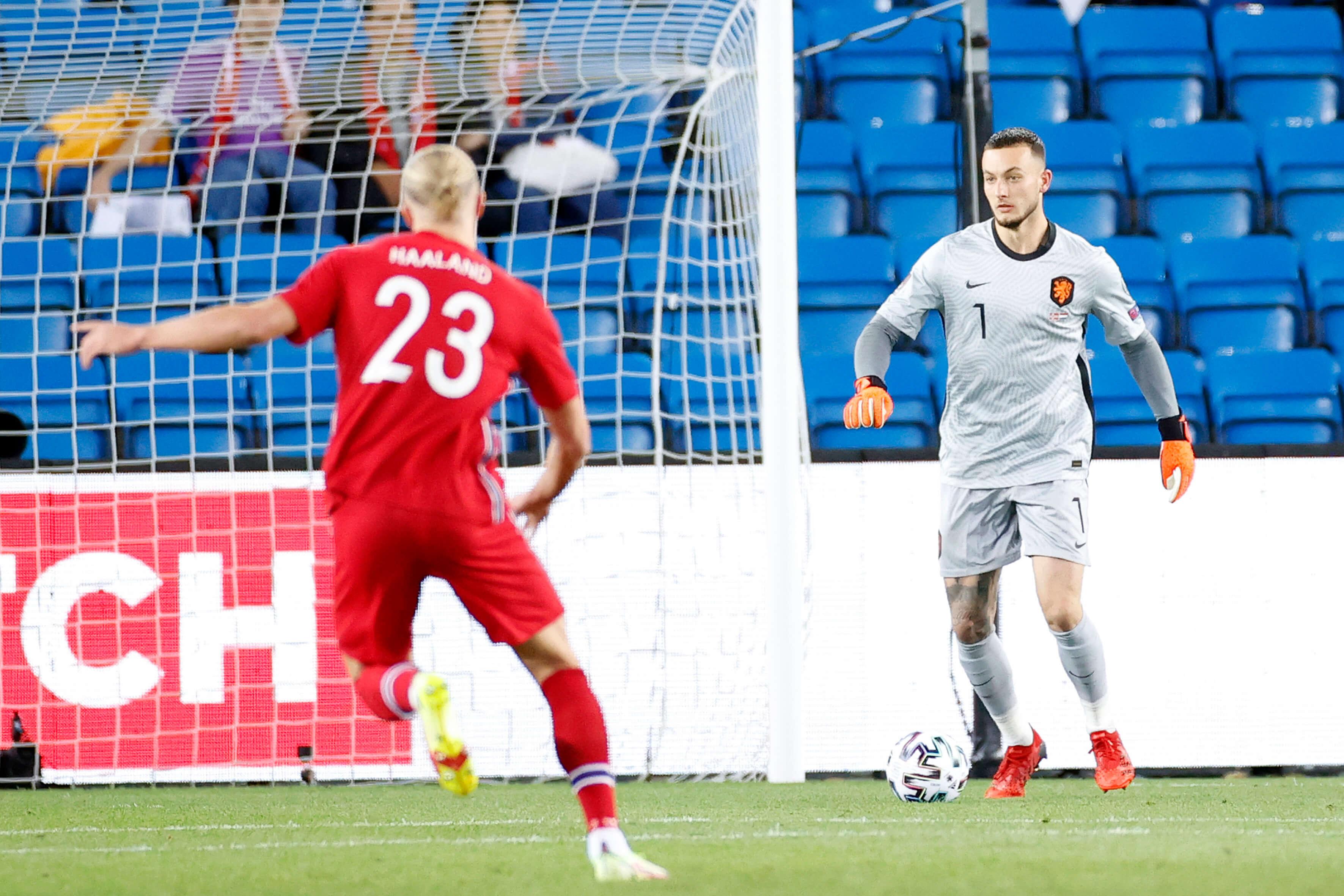 Justin Bijlow en Marcus Holmst Pedersen maken interlanddebuut in zwakke wedstrijd; image source: Pro Shots