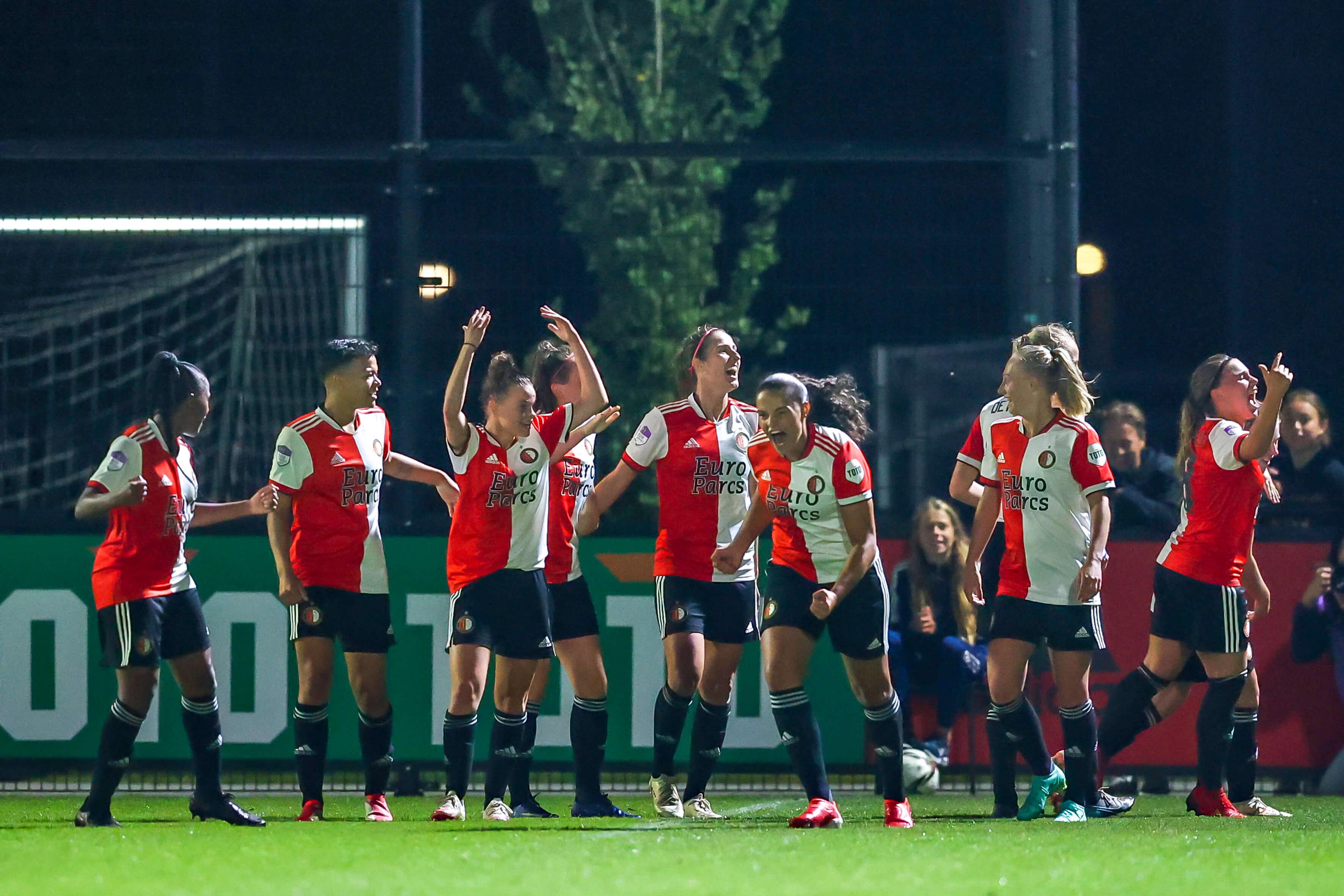 Feyenoord Vrouwen pakt punt na treffer in blessuretijd; image source: Pro Shots