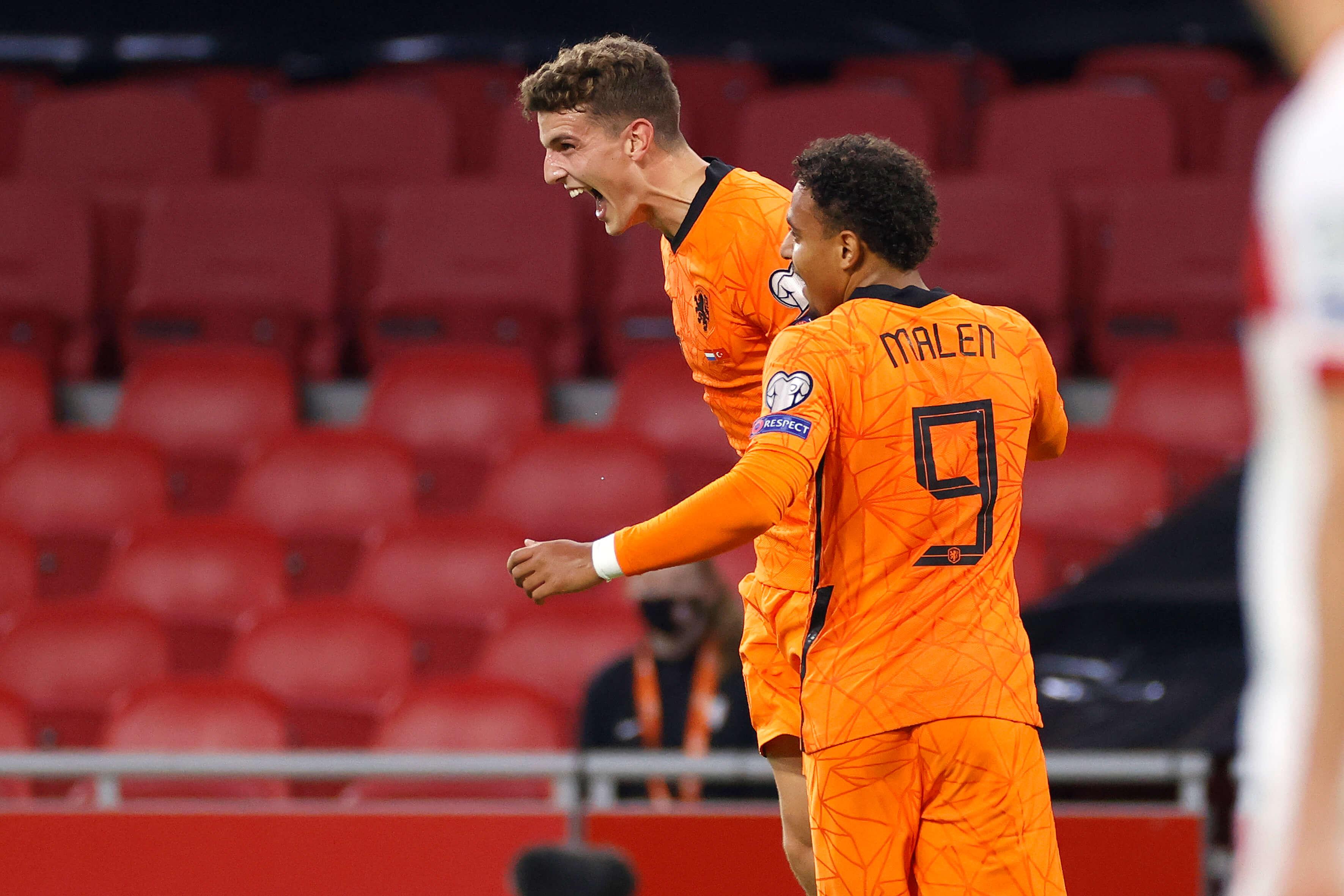 Guus Til scoort tijdens monsterzege Oranje; image source: Pro Shots