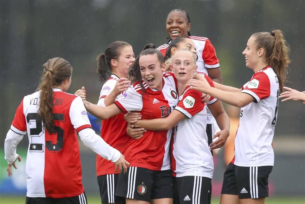 Grote zege Feyenoord Vrouwen in Klassieker; image source: Pro Shots