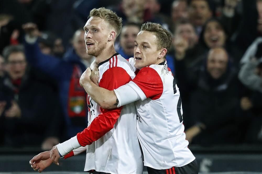 """Nicolai Jørgensen, Jens Toornstra en Sam Larsson hervatten groepstraining""; image source: Pro Shots"