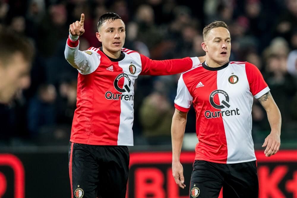 """""""Feyenoord wil ook contracten Steven Berghuis en Jens Toornstra verlengen""""; image source: Pro Shots"""