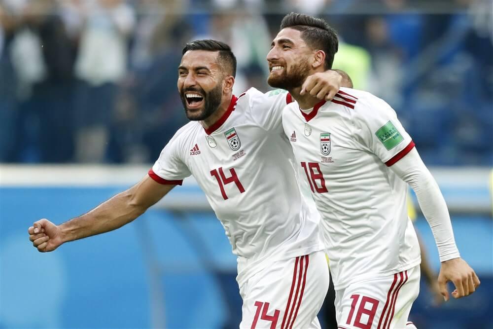 Ofir Marciano wint met Israël, Alireza Jahanbakhsh scoort voor Iran; image source: Pro Shots