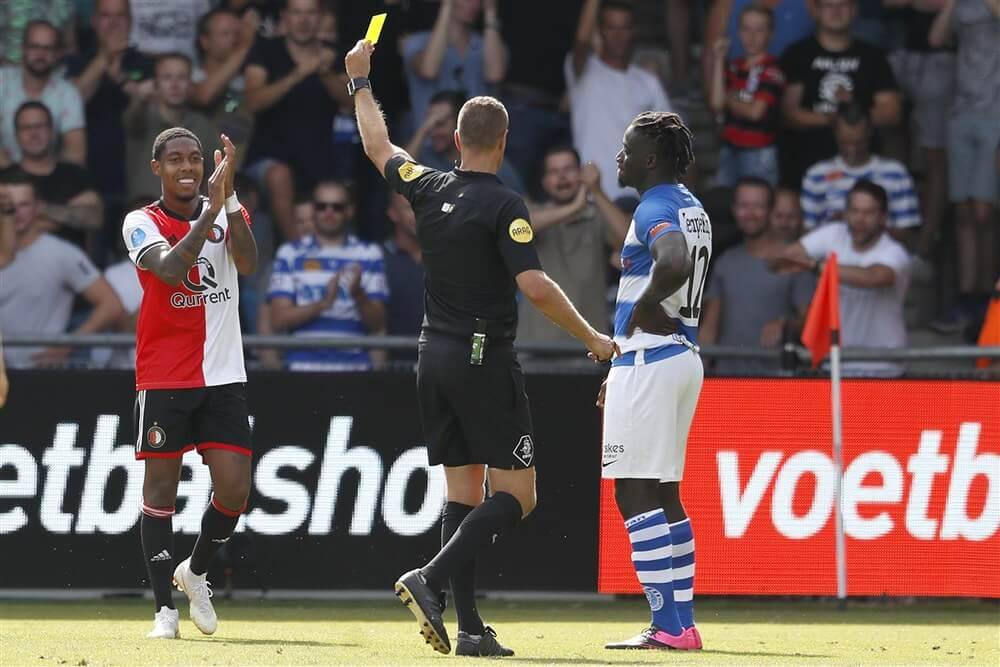 Pol van Boekel fluit Feyenoord - Willem II; image source: Pro Shots