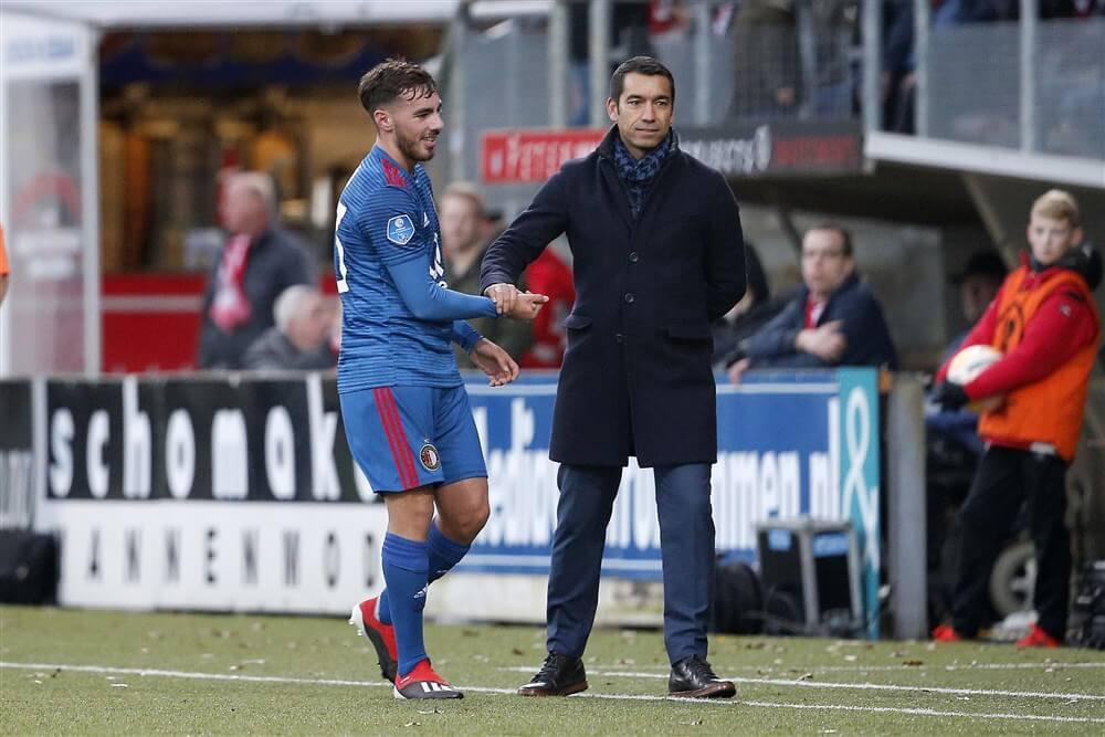 """Giovanni van Bronckhorst: """"Als coach haal je talenten bij eerste elftal omdat je potentie ziet""""; image source: Pro Shots"""