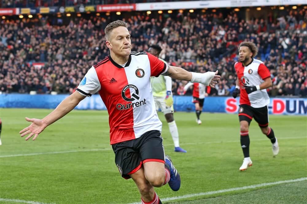 """Jens Toornstra: """"Voor iemand die supporter is van Feyenoord is dit iets om trots op te zijn""""; image source: Pro Shots"""