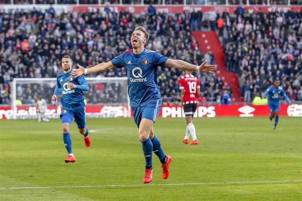 Feyenoord verovert punt in Eindhoven na uitstekende wedstrijd; image source: Pro Shots