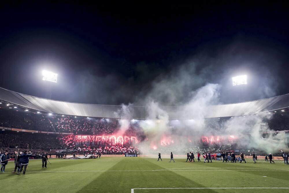 Feyenoord in beroep tegen sluiten vakken vanwege afsteken vuurwerk; image source: Pro Shots