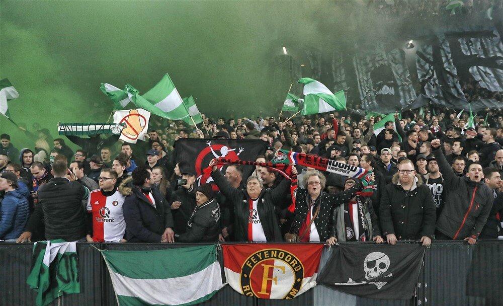 Feyenoord werkt niet meer mee aan mogelijk maken uitsupporters bij Klassieker; image source: Pro Shots
