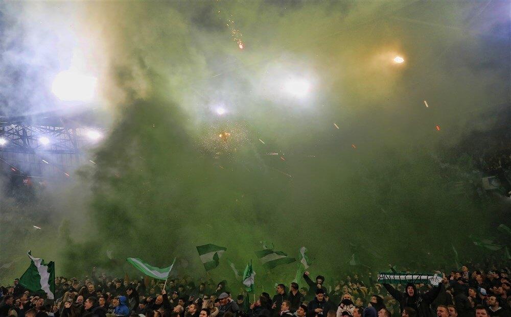 Vak S leeg tijdens Feyenoord - ADO Den Haag; image source: Pro Shots