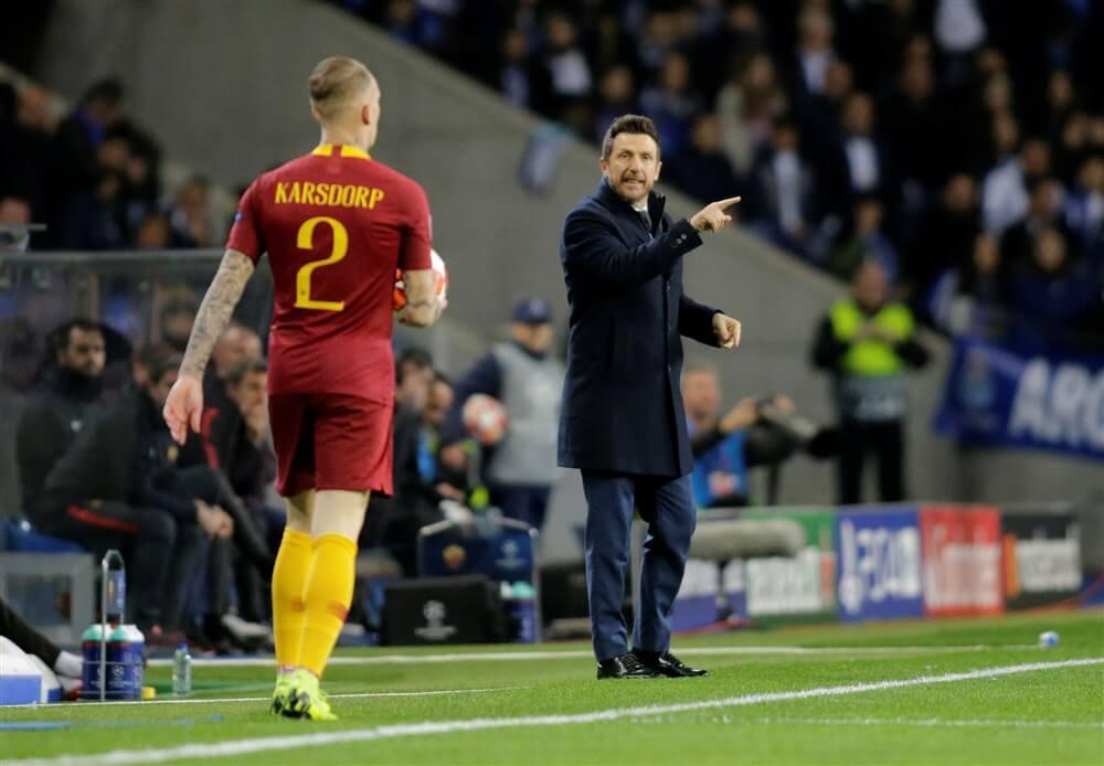 """""""Rick Karsdorp wil terug naar Feyenoord, AS Roma wil niet meewerken aan verhuur""""; image source: Pro Shots"""