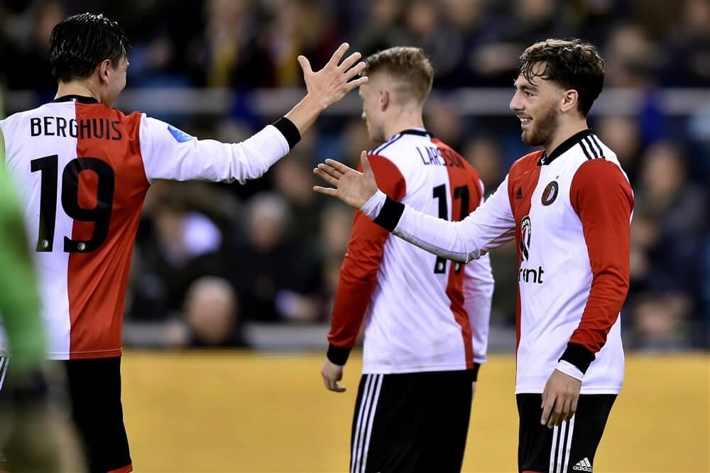 Feyenoord gelijk tegen Vitesse na op en neer gaande wedstrijd; image source: Pro Shots