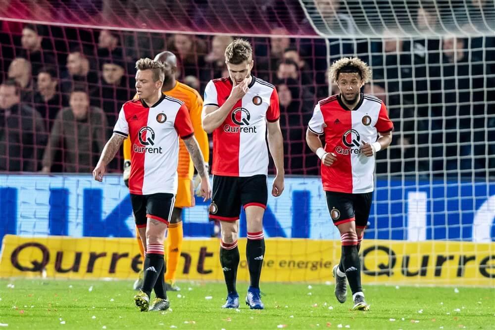 Feyenoord in eigen huis onderuit na wanvertoning tegen Willem II; image source: Pro Shots
