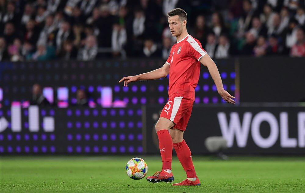"""""""Uroš Spajić nog altijd in afwachting van een werkvergunning""""; image source: Pro Shots"""