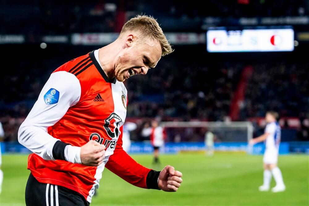 """Nicolai Jørgensen: """"Ik kijk er naar uit om opnieuw bij Feyenoord te beginnen""""; image source: Pro Shots"""