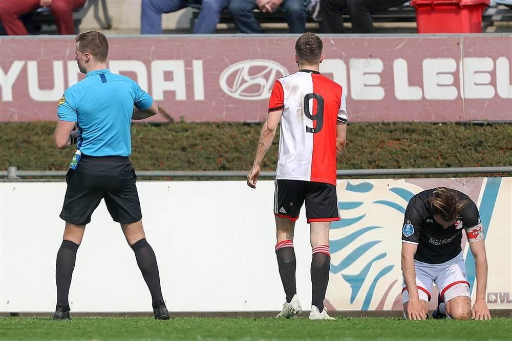 Dylan Vente geschorst na rode kaart bij Jong Feyenoord; image source: Pro Shots