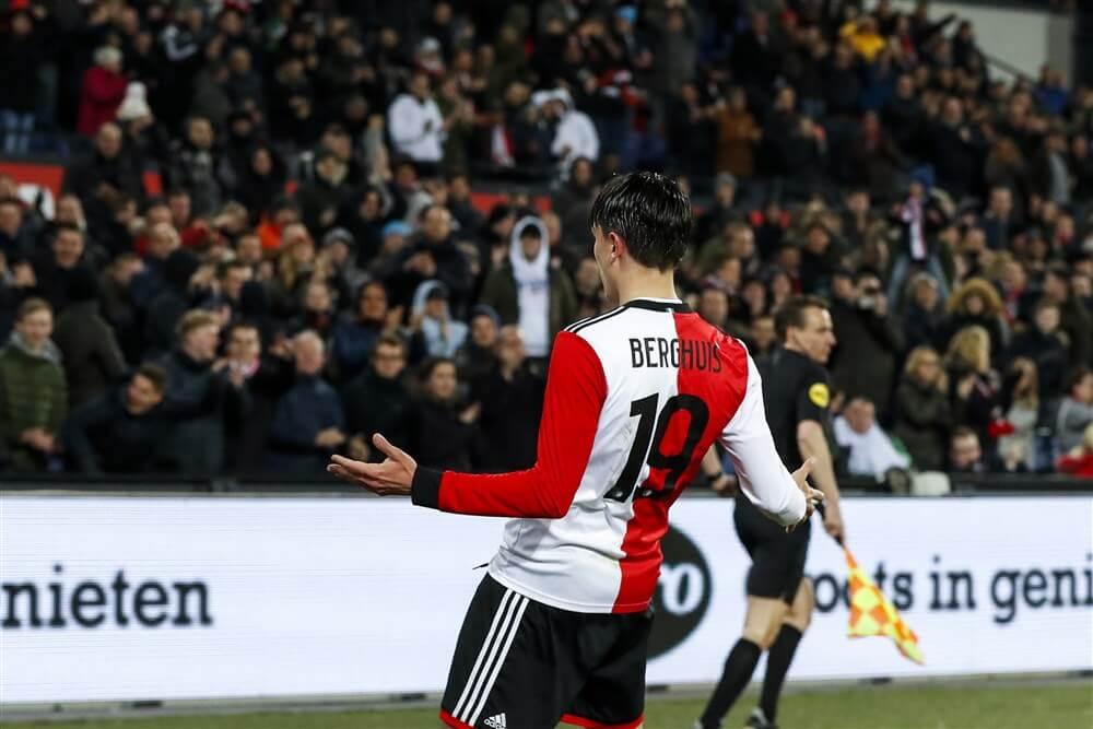 """""""Steven Berghuis nadert akkoord over nieuw contract bij Feyenoord""""; image source: Pro Shots"""