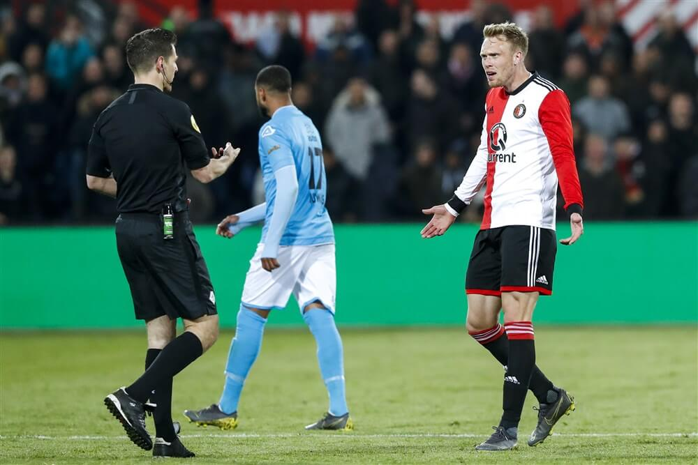 Boete voor Nicolai Jørgensen en Jordy Clasie na gedrag tegen Heracles Almelo; image source: Pro Shots
