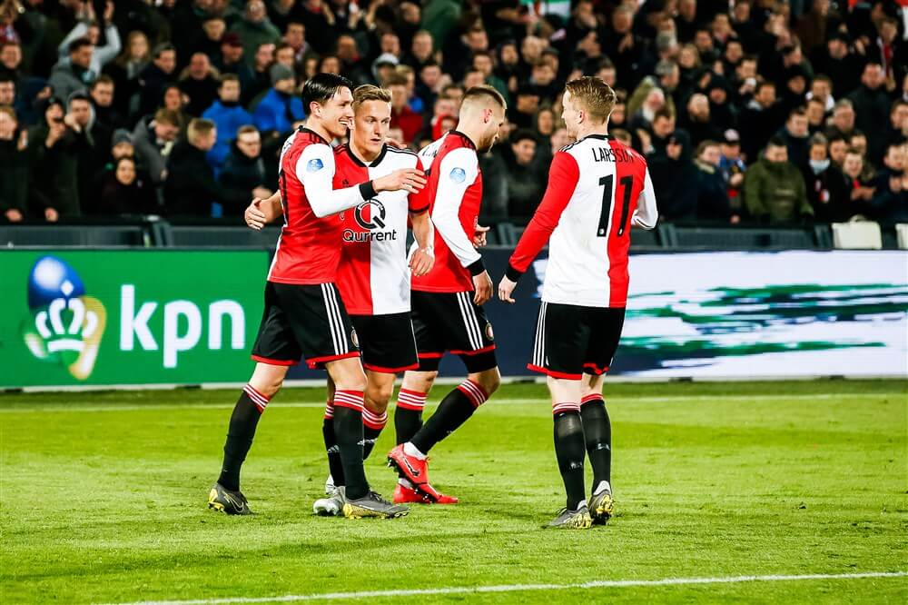 COLUMN: Feyenoord wint nipt na domme rode kaart; image source: Pro Shots