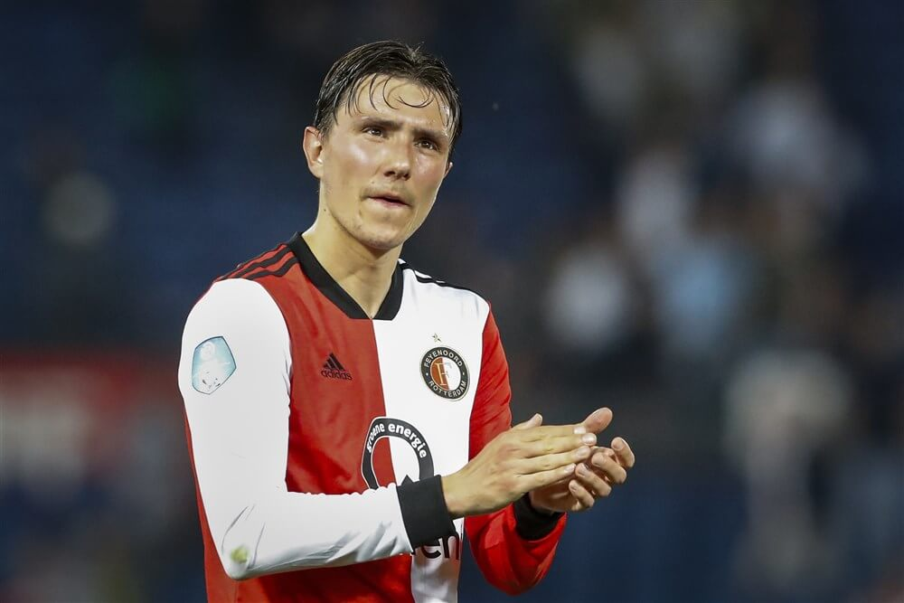 """VI: """"Feyenoord afhankelijk van verkoop, Steven Berghuis vertegenwoordigt hoogste waarde""""; image source: Pro Shots"""