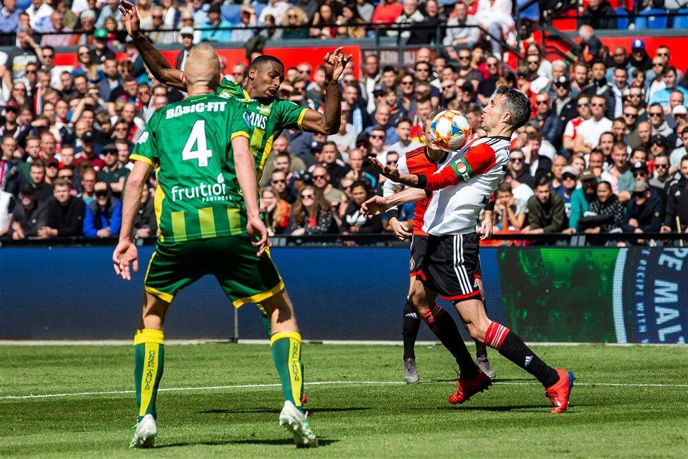 """Willem van Hanegem: """"Feyenoord moet dit voor de zomer oplossen, anders wordt het weer niks""""; image source: Pro Shots"""