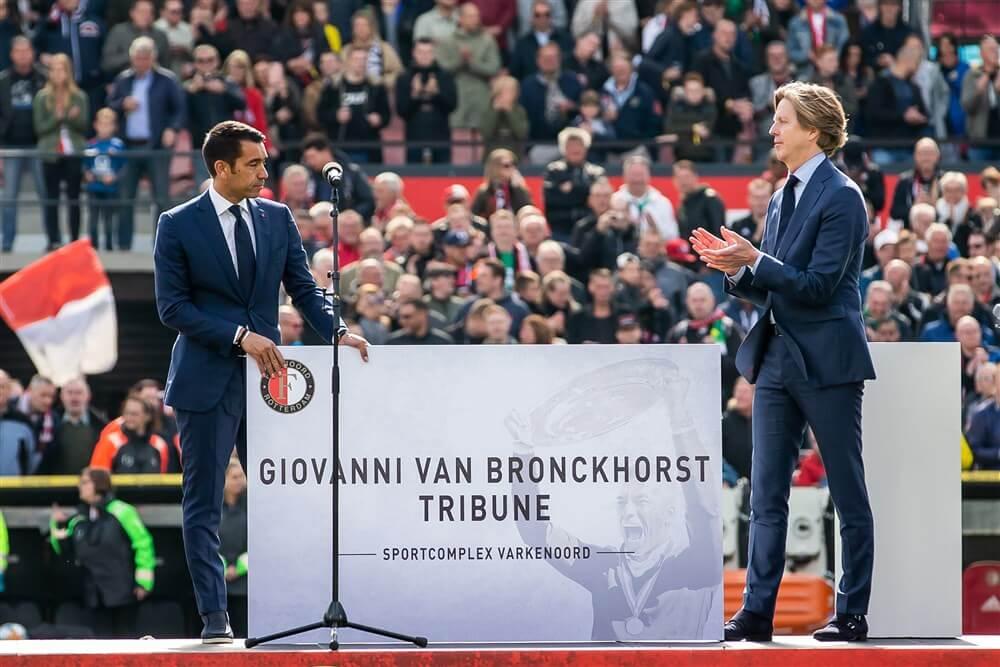Nieuwe tribune op Varkenoord vernoemd naar Giovanni van Bronckhorst; image source: Pro Shots