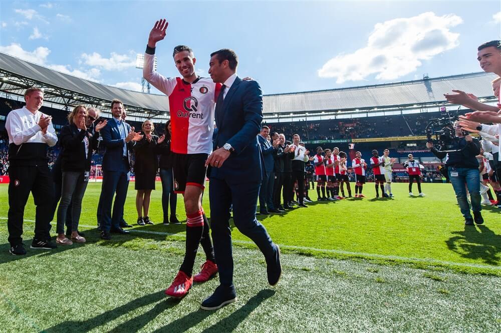 Van Bronckhorst: nog steeds kippenvel over Feyenoord; image source: Pro Shots