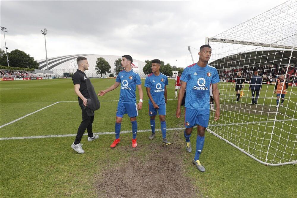 Feyenoord onder 19 loopt titel mis na nederlaag in Amsterdam; image source: Pro Shots