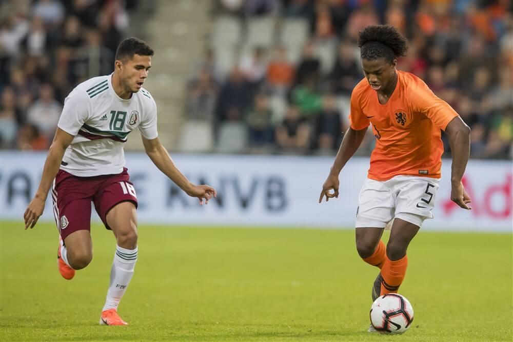 Tyrell Malacia met Jong Oranje veel te sterk voor Olympisch elftal Mexico; image source: Pro Shots