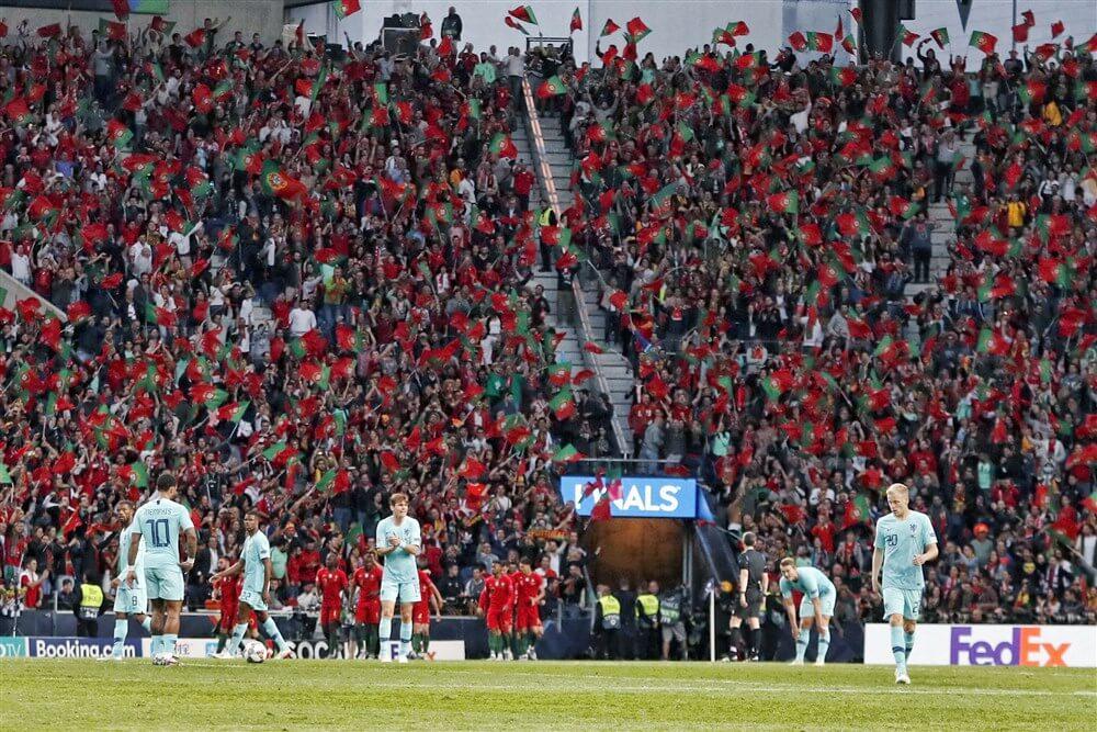 Nederland onderuit tegen Portugal zonder Feyenoorders; image source: Pro Shots