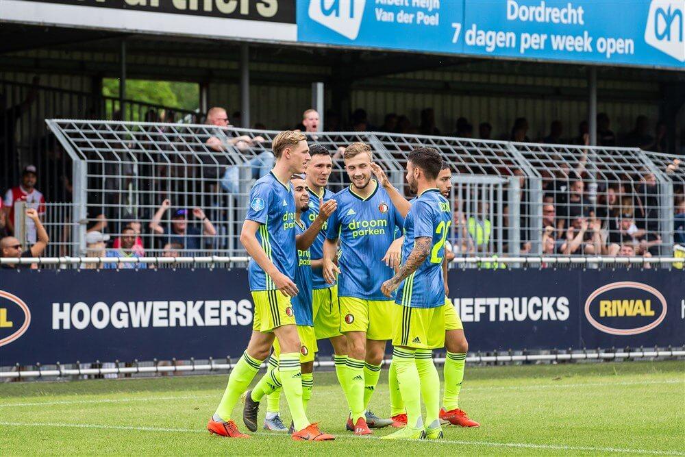 Feyenoord dankzij treffers Marouan Azarkan te sterk voor FC Dordrecht; image source: Pro Shots