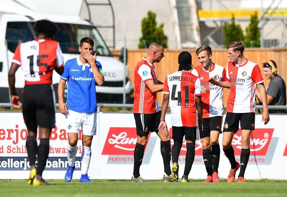 Feyenoord ook te sterk voor SV Darmstadt 98; image source: Pro Shots