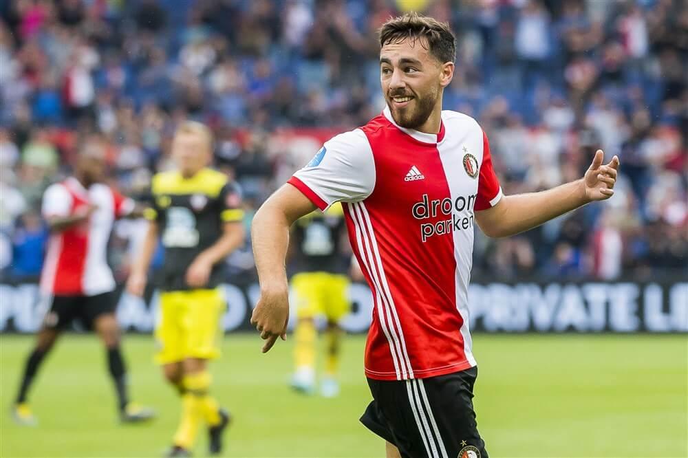 """Orkun Kökcü: """"Het is prettig om te merken dat iedereen zo met me bezig is bij Feyenoord""""; image source: Pro Shots"""