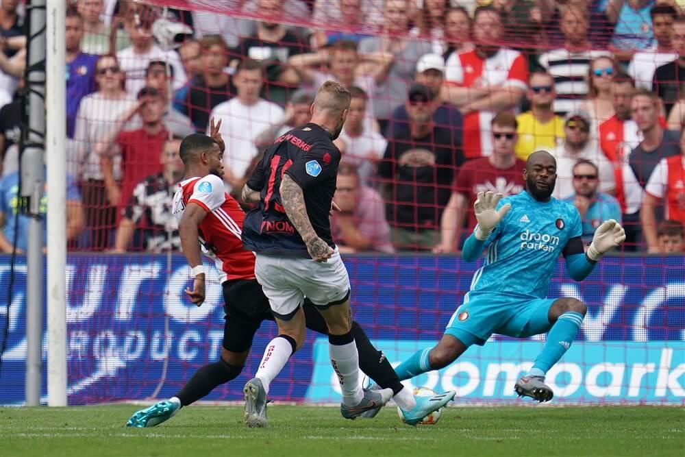 Feyenoord begint met gelijkspel in Rotterdamse derby aan competitie; image source: Pro Shots