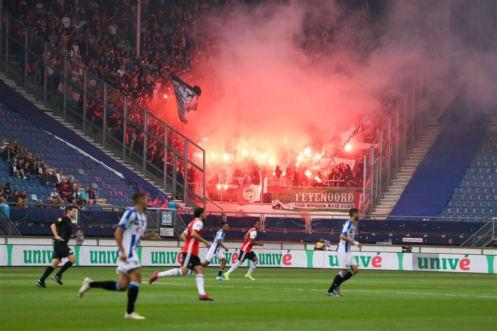 Opnieuw boete voor Feyenoord vanwege vuurwerk; image source: Pro Shots