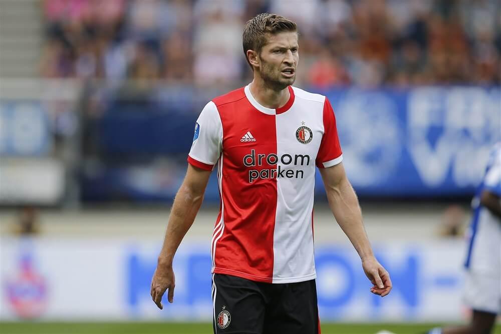 """""""Jan-Arie van der Heijden blijft voorlopig bij Feyenoord""""; image source: Pro Shots"""
