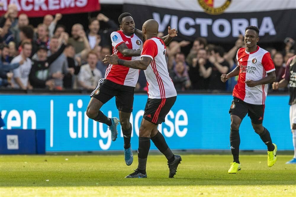 """Ridgeciano Haps hervat groepstraining Feyenoord""; image source: Pro Shots"